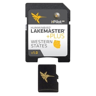 Humminbird LakeMaster Western States PLUS - MicroSD w/ Full Lake List 600011-2