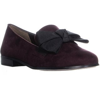 Bandolino Lomb Slip On Loafers, Dark Wine Multi - 9 us