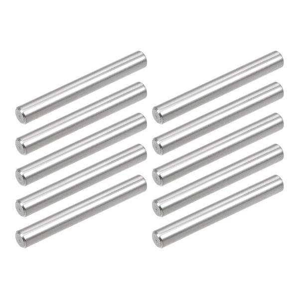 10Pcs 3mm x 50mm Dowel Pin 304 Stainless Steel Shelf Support Pin Fasten
