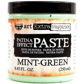 8.45 fl oz Finnabair Art Extravagance Patina Paste - Mint Green