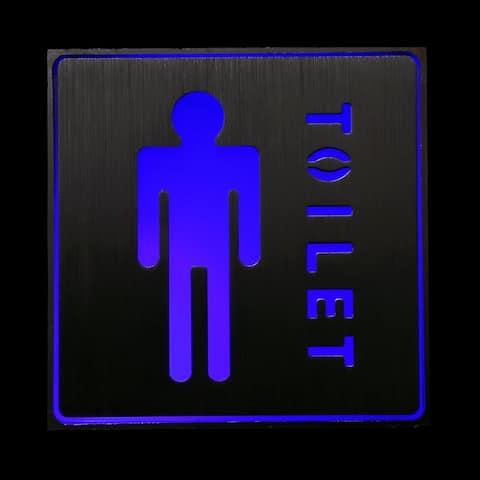 Male Toilet LED Neon Light Sign