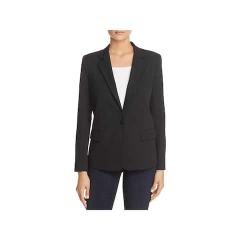 Kenneth Cole Womens One-Button Blazer Suit Separate Office Wear