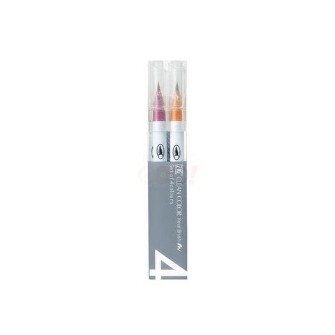 Zig Clean Color Real Brush Mark Set 4VA Pale 4pc