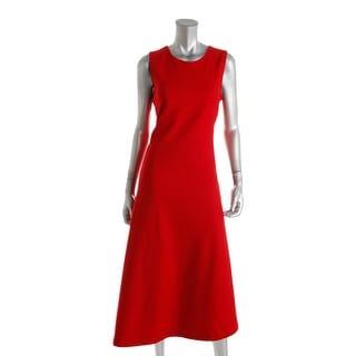 DKNY Womens Wool Blend Asymmetric Hem Cocktail Dress - 14