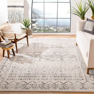 Link to Safavieh Tulum Marte Moroccan Boho Rug Similar Items in Rugs