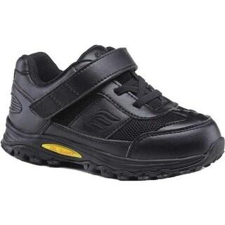 Mt. Emey Children's 3301-1L Orthopedic Sneaker Black Leather/Mesh