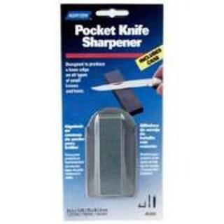 """Norton 87937 Pocket Sharpening Stone 3""""x7/8""""x3/8"""", Medium Grit"""