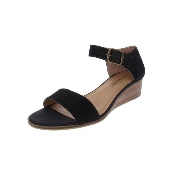 57e166b41a Shop Lucky Brand Womens Riamsee Wedges Ankle Strap - Free Shipping ...