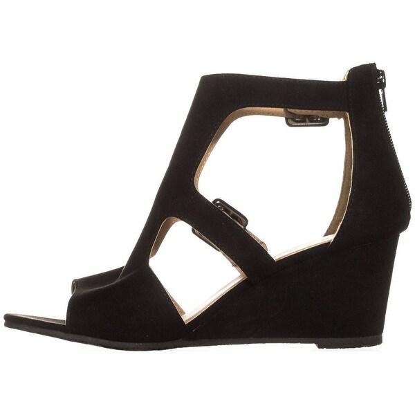 ESPRIT Womens Angel-E Fabric Open Toe Casual Platform Sandals