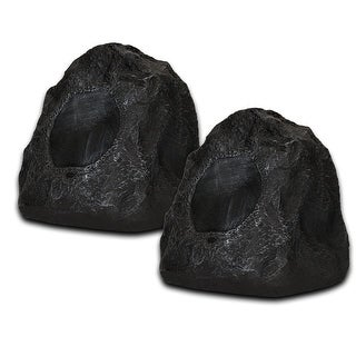 Acoustic Audio G4RS Granite Rock Speaker Pair Outdoor Weatherproof Speakers