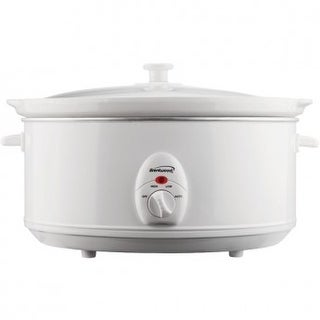 Brentwood SC-145W 6.5 Quart Slow Cooker