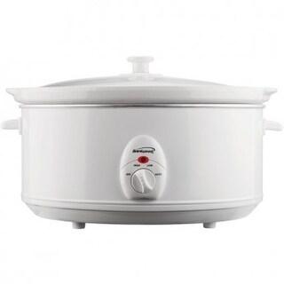 Brentwood SC-145W 6.5 Quart Slow Cooker