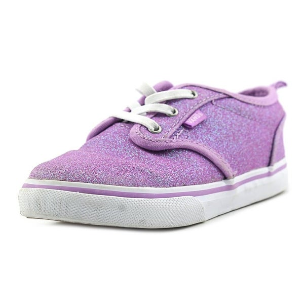 Vans Atwood Toddler Round Toe Canvas Purple Sneakers