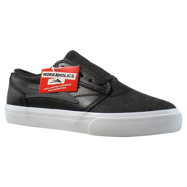0df01a57c6ac8c Shop Lakai Mens Workaholics Griffin Black Fashion Shoes Size 6 ...