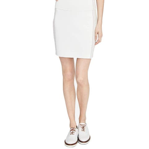 RACHEL Rachel Roy Women's Sweater Pencil Skirt, White (XS)