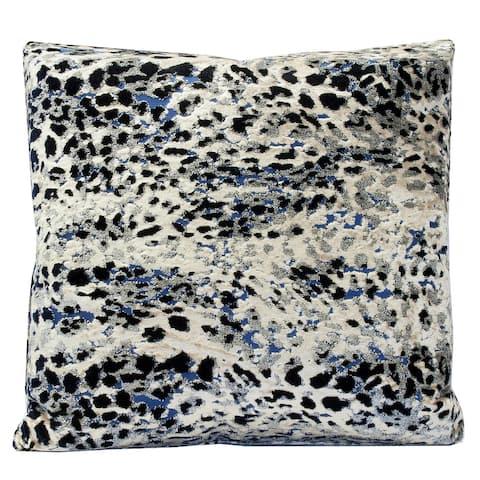 Harp & Finial Sarabi Midnight Moon Multi Colored Pattern Pillow