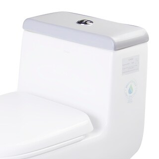 Eago R-351LID  Replacement Toilet Tank Lid for TB351 - White