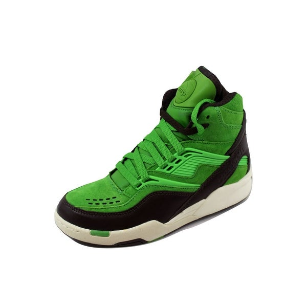 ab5f88cd6d7 ... Men s Athletic Shoes. Reebok Men  x27 s Twilight Zone Pump Neon  Green Earth-WhiteV48999