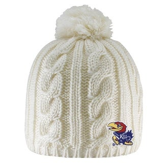 University of Kansas Cumberland Pom Pom  Beanie