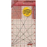 "6-1/2""X12-1/2"" - The Cutting Edge Frosted Ruler"