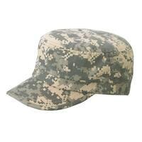 Enzyme Regular Solid Army Caps-Digital - Digital