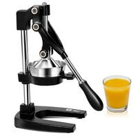 Gymax Juice Squeezer Hand Press Manual Fruit Juicer - as pic