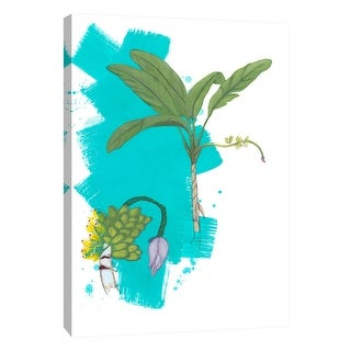 """PTM Images 9-105245  PTM Canvas Collection 10"""" x 8"""" - """"Palm 3"""" Giclee Palm Trees Art Print on Canvas"""