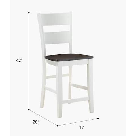 Porch & Den Corrina Casual Bar Stool (Set of 2)