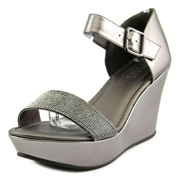 Kenneth Cole Reaction Sole Gem Open Toe Synthetic Platform Heel