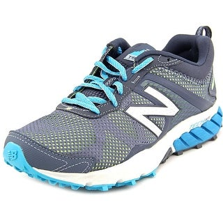 New Balance WT610 Women Round Toe Synthetic Gray Trail Running