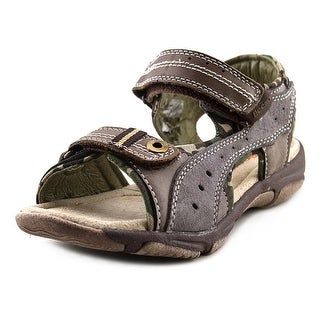 Beeko Desi Youth Open-Toe Leather Sport Sandal