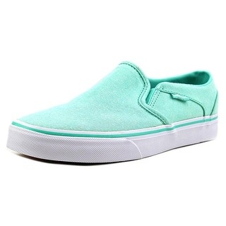Vans Asher Low Round Toe Canvas Sneakers