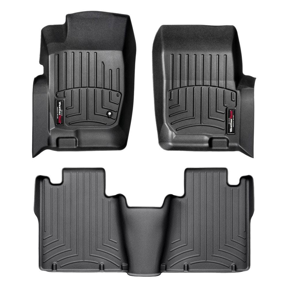 WeatherTech Custom Fit Rear FloorLiner for Ford Explorer Tan 450433
