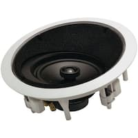 """Architech Ap-615 Lcrs 6.5"""" 2-Way Round Angled In-Ceiling Lcr Loudspeaker"""