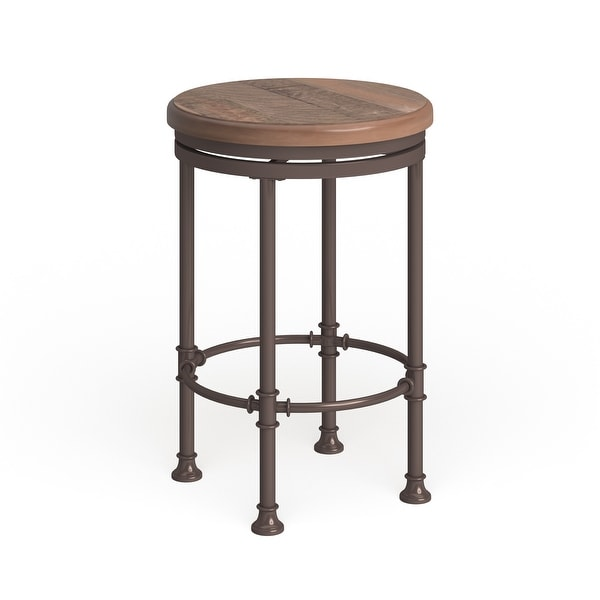 Carbon Loft Thatcher Round Swivel Counter Stool. Opens flyout.