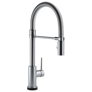 Delta Cassidy Single Handle Pull-Down Kitchen Faucet with Touch2O ...