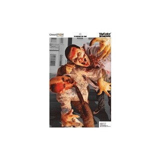Champion 46052 champion zombie visicolor variety target 12x18 6-pack