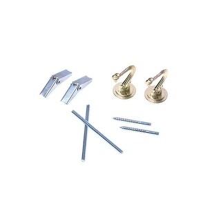 Westinghouse 7045000 Swag Hook Kit, Brass, 2/Pk