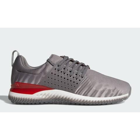 "New Men's Adidas Adicross Bounce Limited Edition ""Niuhi Shark"" Golf Shoes Granite/Cloud White/Light Solid Grey AC8212"