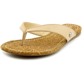 Charles By Charles David Tiki Women Open Toe Synthetic Nude Thong Sandal