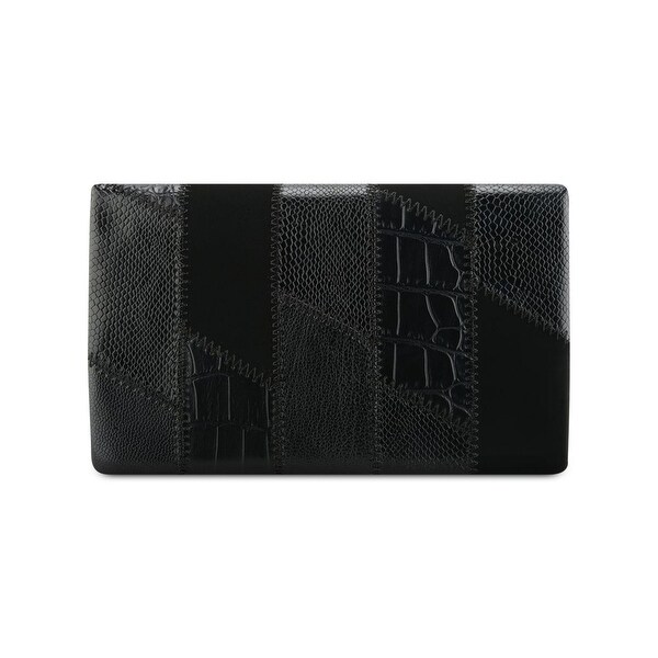 Nine West Womens Clutch Wallet Faux Leather Patchwork - o/s