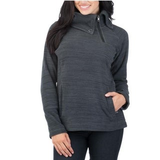 Avalanche Women's 1/4 Zip Thumb Holes Fleece Kamnik Pullover Jacket