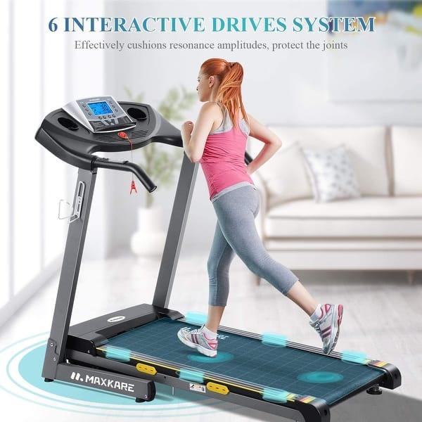 Treadmill Auto Incline Running Machine Home Heavy Duty Electric ...