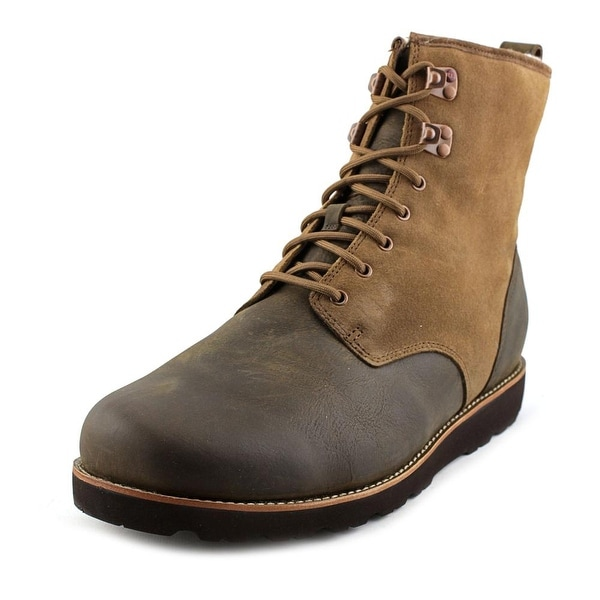 90675cf7075 Shop Ugg Australia Hannen TL Men Round Toe Leather Brown Boot - Free ...