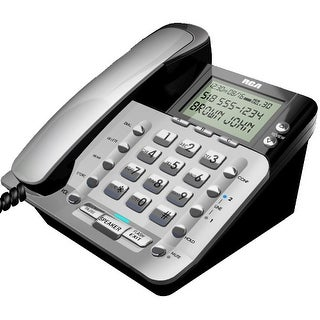 RCA 1223-1BSGA 2 Line Caller ID Corded Phone