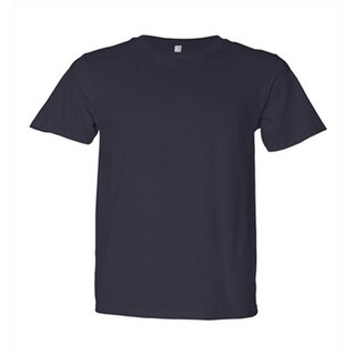 DDI Anvil Sustainable Ringspun T-Shirt - Navy - Medium Case of 12