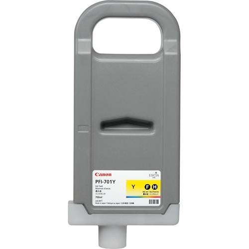 """Canon PFI-701Y Lucia Ink Cartridge - Yellow Ink Cartridge"""
