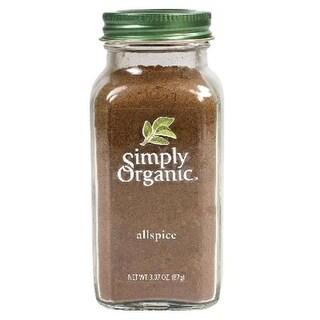 Simply Organic BG18167 Simply Organic All Spice Seasoning - 6x3.07OZ