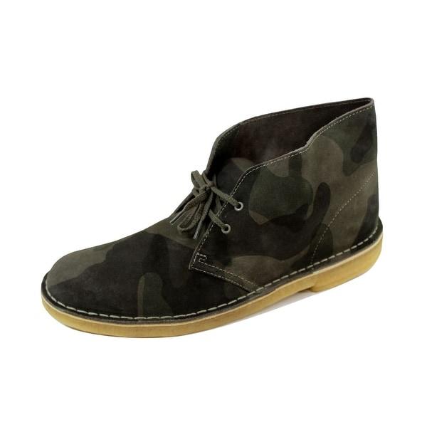 Clarks Men's Desert Boot Camo 62126