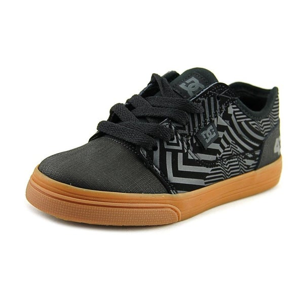 DC Shoes Tonik KB Youth Round Toe Leather Black Sneakers